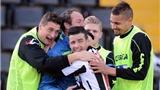 Vòng 19 Serie A: Inter Milan thua tan nát Udinese