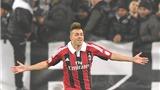 Milan thua Juve ở Copa Italia: El Shaarawy không phải người sao Hỏa
