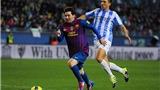 Malaga 1-3 Barca: Messi trở lại ấn tượng, Blaugrana bất bại giai đoạn lượt đi