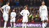 Real Madrid đá cực tệ ở các trận đấu lớn: Chỉ giành 3/15 điểm tối đa