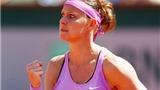 Bán kết đơn nữ Roland Garros: Ấn tượng Lucie Safarova