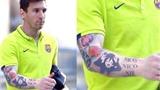 Hình xăm Messi, Juve quả cảm và một Barca kiệt xuất