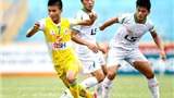 Vòng 13 giải hạng Nhất QG Kienlongbank 2015: Hà Nội mở hội ở sân Thống Nhất