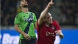 Play-off Europa League: Dortmund thắng 7-2 nhờ hat-trick của Marco Reus. Southampton bị loại