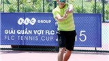 Minh Quân toả sáng trong ngày khai mạc Giải quần vợt FLC 2015