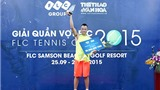 Kết thúc giải quần vợt FLC - FLC Tennis Cup 2015: Những trải nghiệm tuyệt vời!