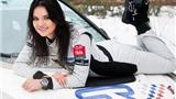 Inessa Tushkanova - Siêu mẫu nóng bỏng đằng sau vô-lăng trên đường đua tốc độ