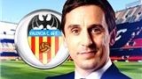 Gary Neville khó thành công ở Valencia?