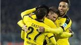 Dortmund 4-1 Eintracht Frankfurt: Aubameyang không thể ngừng ghi bàn