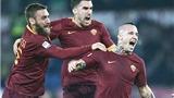 Roma – Milan 1-0: Chỉ Roma có thể bắt kịp Juventus