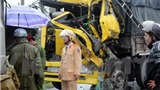 Quảng Nam: Đâm xe liên hoàn, lái xe chết thảm trong cabin