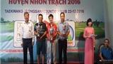 Giải Golf từ thiện quyên góp được 2 tỉ đồng cho huyện Nhơn Trạch, Đồng Nai