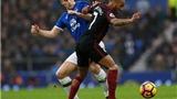 Everton 4–0 Man City: Công kém, thủ tồi, Man City thua tan nát