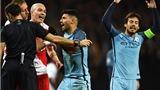Man City hậm hực vì 'bạn thân' của Mourinho phạt Aguero lỗi ăn vạ