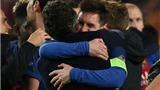 Messi và HLV Luis Enrique ăn mừng chiến thắng 'điên cuồng' sau cú lội ngược dòng lịch sử