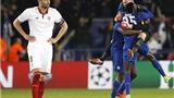 Sevilla bị loại khỏi Champions League, Liga phải cảm ơn Leicester