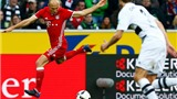 Cầu thủ Bayern cười điên đảo khi Robben vùng vằng lúc bị thay ra