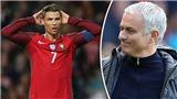 Mourinho đã nói gì với Ronaldo mà phải xin lỗi gấp?