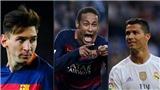 Không phải Ronaldo hay Messi, Neymar mới là cầu thủ xuất sắc nhất thế giới hiện tại