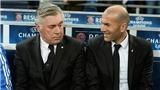 Zidane đối đầu Ancelotti: Ân tình, lời khuyên và sự đáp đền