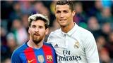Giày Vàng cho Messi, nhưng Bóng Vàng là dành cho Ronaldo