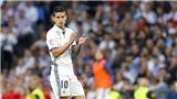 James Rodriguez trên đường sang Man United: Tạm biệt, và cảm ơn anh!