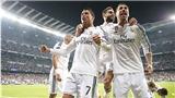 Real Madrid đã trải hoa hồng cho ngày đăng quang
