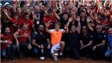 Tennis ngày 22/5: Djokovic 'bái' Agassi làm thầy. Roland Garros trao suất đặc cách cho tay vợt từng bán độ