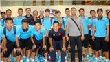 U22 Việt Nam đến Kuala Lumpur, bắt đầu chinh phục HCV SEA Games 29