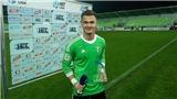 Thủ môn Việt kiều gây sốc tại Séc, 'chung mâm' với Tomas Rosicky và Milan Baros