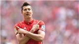 Lewandowski: 'Quan tâm làm gì đến danh hiệu Quả bóng Vàng'