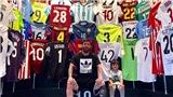 Bộ sưu tập áo đấu khủng của Messi có áo của Ronaldo?