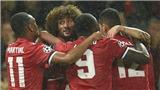 Liên tục tỏa sáng, Fellaini bây giờ trở thành con bài 'chiến lược' của Mourinho