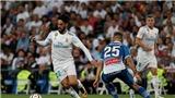 Video clip highlights bàn thắng trận Real Madrid 2-0 Espanyol