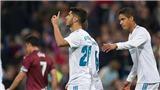 Video clip highlights bàn thắng trận Real Madrid 3-0 Eibar