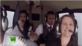 VIDEO: Cô dâu mất mạng khi đi trực thăng đến đám cưới