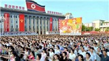 Triều Tiên: Biển người thách thức lời cảnh báo của Tổng thống Trump