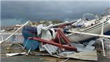 Quần đảo Virgin 'biến dạng' kinh hoàng dưới sức tàn phá của siêu bão Irma