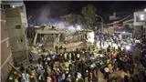 Động đất 7,1 độ Richter, 22 học sinh tiểu học vẫn bị vùi lấp thương tâm