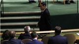 Hành động bất ngờ của Đại sứ Triều Tiên khi Tổng thống Donald Trump phát biểu