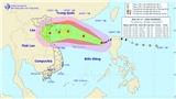 Bão số 11 giật cấp 12 và tiếp tục mạnh lên có thể đổ bộ miền Bắc và Bắc Trung bộ