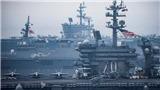 Hải quân Mỹ và Hàn Quốc bắt đầu tập trận ngoài khơi bán đảo Triều Tiên