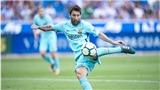 'Hội chứng phụ thuộc Messi' đang trở lại với Barca