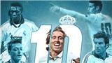 Modric sẽ thanh tẩy lời nguyền áo số 10?