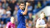 Morata đang là điểm sáng hiếm hoi của Chelsea