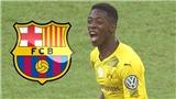 Barcelona 'tấn công' Ousmane Dembele vì... Deulofeu