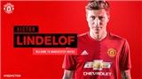 Lindelof sẵn sàng cho thách thức ở Man United