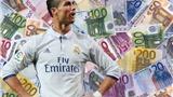Ronaldo là ngôi sao thể thao giàu nhất Châu Âu