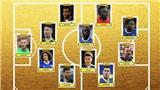 Ibrahimovic và Sanchez vắng mặt trong Đội hình xuất sắc nhất năm của Premier League