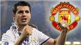Man United bị Real Madrid hét mức giá ĐIÊN RỒ trong vụ Alvaro Morata